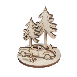 Holz-Steckteile *Wintercar*