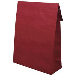 Papiertüte/Geschenktüte in bordeaux