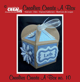 Crealies Create A Box Stanzschablonen-Set No. 10 *Cupcake box*