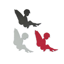 Die *Sitzender Engel*