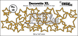 Decorette XL stans/die no. 13 *Interlocking stars*