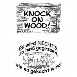 Clearstamp Set *Knock on wood*