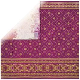 KaiserCraft Scrapbookingpapier Serie *Bombay Sunset* Sari