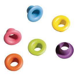 *Easy Eyelets* Rund außen ø 5 mm, mehrfarbig!