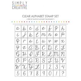 Clearstamp Set *Alphabet Stamp* in 3 verschiedenen Schriften!