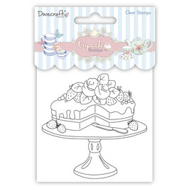 Clear-Stamp Cupcake Boutique *Cake*!