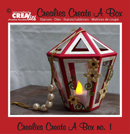 Crealies Create A Box Stanzschablonen-Set No. 1 *Lantern*