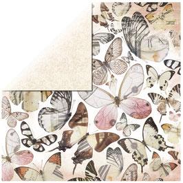 KaiserCraft Scrapbookingpapier Serie *Mademoiselle*  Flutter