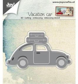 Stanzschablonen-Set *3D Auto VW mit Koffer*