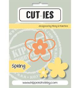 2-teiliges Stanzschablonen-Set *Spring Flower*