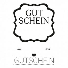 Clearstamp Set *Gutschein**
