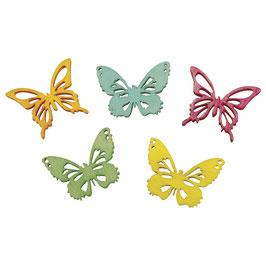 Holz Streuteile Schmetterlinge!