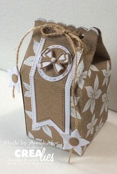 Create A Box Mini stans/die No. 06 * Milk carton*