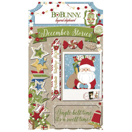 BoBunny *Layered Chipboard Dear Santa*