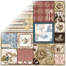 BoBunny Scrapbookingpapier Serie *Provence Aroma*