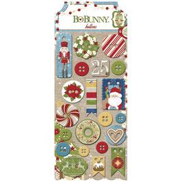 BoBunny Buttons *Dear Santa*