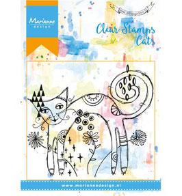 Einführungspreis Clear Stamp *Skinny cat*!