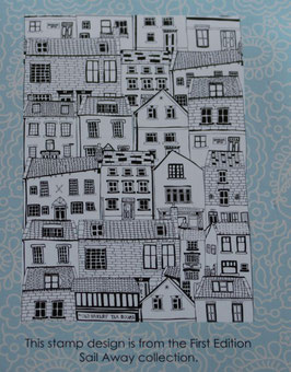 Trimcraft - Rubber Stamp A6 *Houses*!