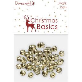 *Jingle Bells* Glöckchen Christmas Basics in gold und silber!