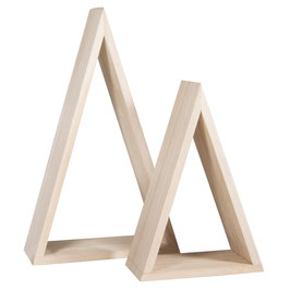 Holz-Rahmen, Dreieck