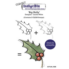 Clear-Stempel-Set *Big Holly*!