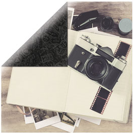 KaiserCraft Scrapbookingpapier Serie *Just Landed*  Journal