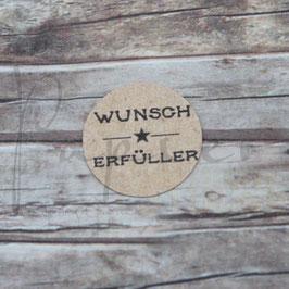 Holzstempel *Wunscherfüller*