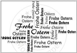 Stempelgummi *Frohe Ostern*