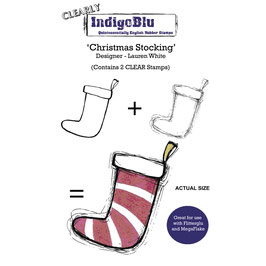Clear-Stempel-Set *Christmas Stocking*!