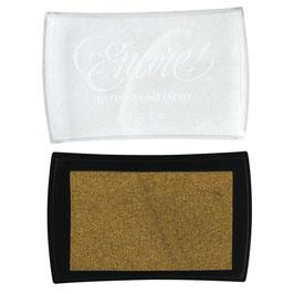 Embossing *Pigment-Stempelkissen* gold, silber und bronze