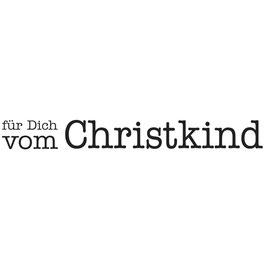 Holz-Stempel / Statement-Stempel *Für Dich vom Christkind*