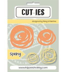 2-teiliges Stanzschablonen-Set *Spring Spring Swirl*!