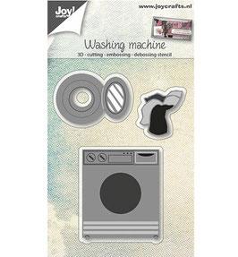 Stanzschablonen-Set *3D-Washing Machine*