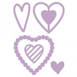 Dovecraft Stanzschablone/Die *Hearts*