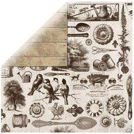 BoBunny Scrapbookingpapier Serie *Provence French Quarter*