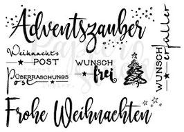 Clearstamps *Weihnachten*