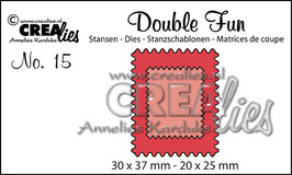 Crea-Lies Stanzschablonen No. 15 *Double Fun*