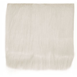 Langhaarplüsch in weiß