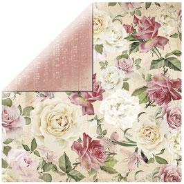 KaiserCraft Scrapbookingpapier Serie *Mademoiselle*  Floral Spray