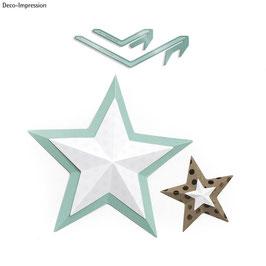 WeR Memory Keepers-Zubehör*Star Template*
