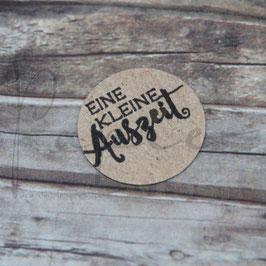 Holzstempel *Eine kleine Auszeit*