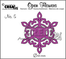 Crea-Lies Stanzschablone *Open Flower* Die No. 5