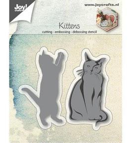 Stanzschablonen-Set *3D-Cats*