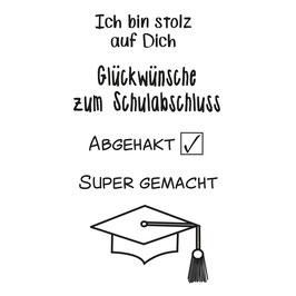 Clearstamp Set *Abgänger* Abitur