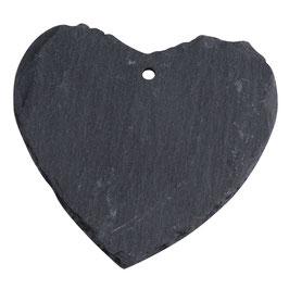 3 kleine Schiefer-Herzen
