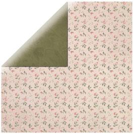 KaiserCraft Scrapbookingpapier Serie *Mademoiselle* Blossoms