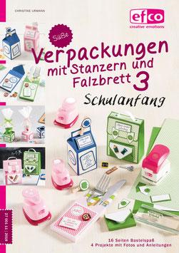 Süße Verpackungen mit Stanzern und Falzbrett 3 - Schulanfang
