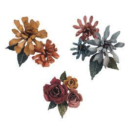 Sizzix Thinlits Set *Spiral Flowers* Tim Holtz