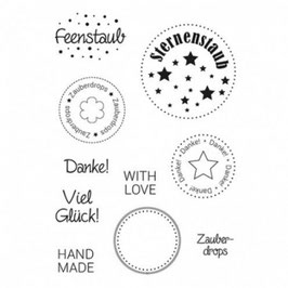 Clearstamp Set *Zauberdrops*