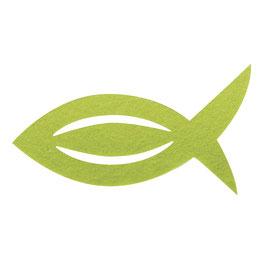 Filz Manschette für Servietten Fisch,